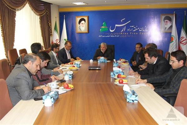 تولید کالا با دانش فنی روز  ایتالیا و مواد اولیه ایرانی در ارس حمایت میشود