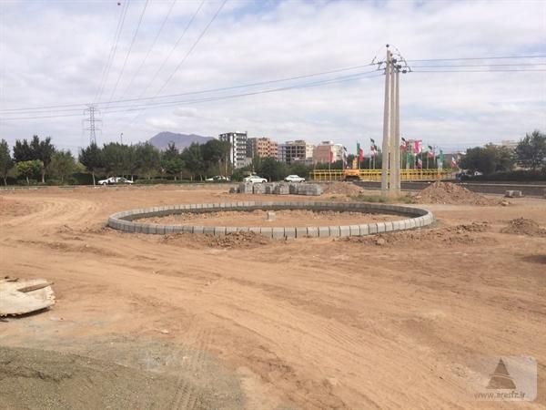 آغاز احداث پارک و کمپ اسکان مسافر در  محدوده جلفا